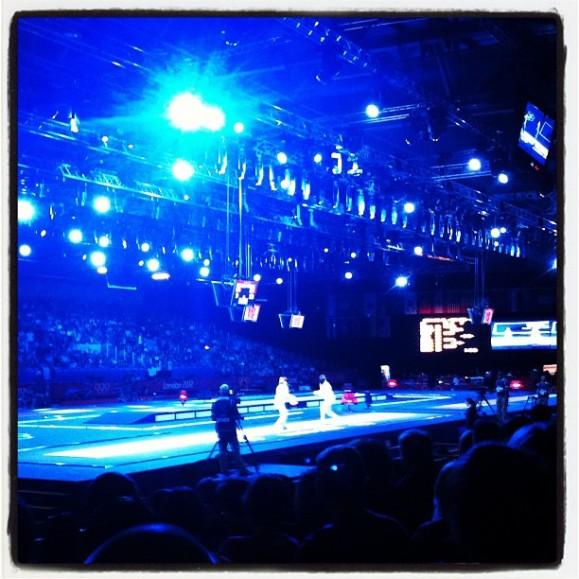 Olympic fencing semi-final